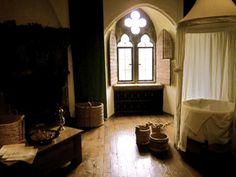 Queen Katherine of Aragon's royal bathroom in Leeds Castle
