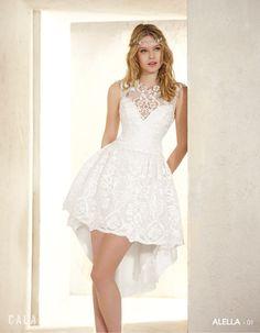 Vestidos novia civil invierno