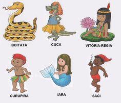 desenho do folclore brasileiro - Bing Imagens