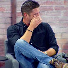 ALL the laughing Jensen gifs!