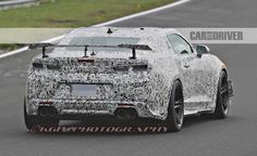 Spied! 2018 Chevrolet Camaro Z/28 - Photo Gallery of Future Cars from Car and Driver - Car Images - Car and Driver