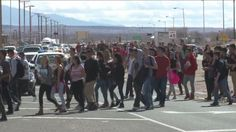 Protests over the PARCC test reached a new high Tuesday as hundreds of kids from Rio Grande High School marched up Coors Boulevard to West M…