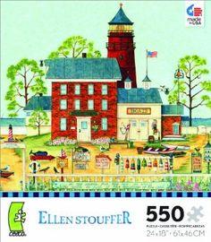 Ellen Stouffer The Lighthouse Jigsaw Puzzle