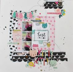 Who wants to get their hands on the fabulous Cute Girl line from Crate Paper? This girl! Cute Girls, Cool Girl, Little Girls, Scrapbook Stickers, Scrapbook Pages, Scrapbooking Ideas, Gossamer Blue, Diy And Crafts, Paper Crafts