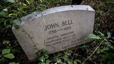 Headstone of John Bell : Ghost Adventures: Bell Witch Cave Pictures : TravelChannel.com