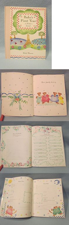 Keepsakes and Baby Announcements 117388: Vintage ~Baby'S First Year~ Memory Keepsake Record Book Photo Album Journal-New -> BUY IT NOW ONLY: $30 on eBay!