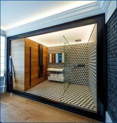 Ванная комната в мужской квартире