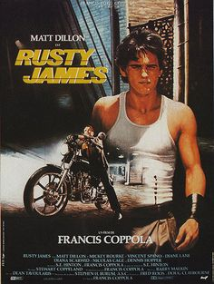 A 1983 film directed, produced and co written by francis ford coppolamble fis. Matt Dillon, Mickey Rourke, Diane Lane, Dennis Hopper, Bon Film, French Movies, Classic Movies, Tatuajes, Actor