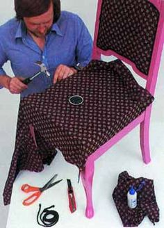 Recycled Furniture, Diy Furniture, Picnic Blanket, Outdoor Blanket, Chair Repair, Cheap Hoodies, Harajuku Fashion, Diy Tools, Fall Dresses