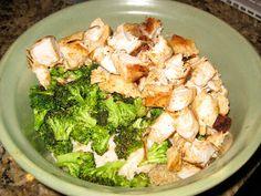 Chicken, Broccoli, #Quinoa Alfredo