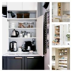My Kitchen Pantry. Pantry ideas and how to integrate design.