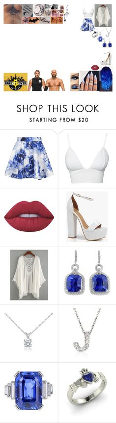 """Walking #DIY Out To Their Match At NXT TakeOver: Chicago"" by belabmilagres ❤ liked on Polyvore featuring Topshop, Club L, Lime Crime, Boohoo, Blue Nile, Roberto Coin, Diamondere and Bling Jewelry"
