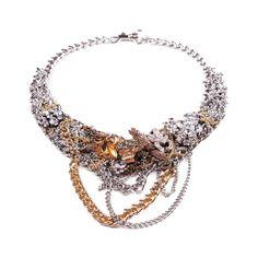 This looks like grandma's jewelry box got drunk and threw up.  Yech!    $720.00