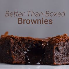 This boxed brownies recipe will surely not disappoint! Enjoy some baking time while you are safely quarantining. So Yummy wants you to stay happy and healthy! food recipe videos Better-Than-Boxed-Brownies Summer Dessert Recipes, Dessert Cake Recipes, Brownie Recipes, Desert Recipes, Food Cakes, Tastemade Dessert, Boxed Brownies, Baking Brownies, Easy Brownies