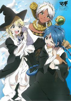 The labyrinth of magic MAGI / Hamatora poster promo anime official Anime Magi, M Anime, Anime Love, Manga Magi, Anime Stuff, Aladdin Magi, Magi Sinbad, Magi Judal, Magi Adventures Of Sinbad