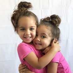 I know everyone says that their babies are the cutest but look at my little sisters. They're like adorable little bunnies.