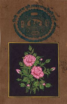 Indian Mughal Rose F