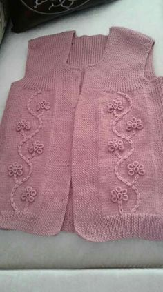 Knitting embroidery