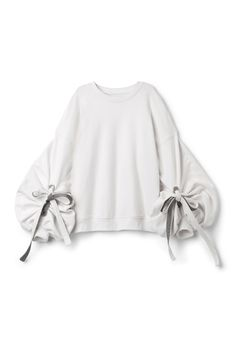 Weekday image 1 of Sweater With Edwardian Sleeves in Off white