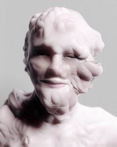 Istanbul-based artist Can Pekdemir imagines what human faces would look like if their bone structures were radically distorted, but flesh still covered them flawlessly. The designer has created these incredibly disturbing portraits using photography and digital manipulation.