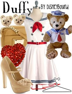 I would wear the crap out of this. the dress especially. love it! DisneyBound, of course.