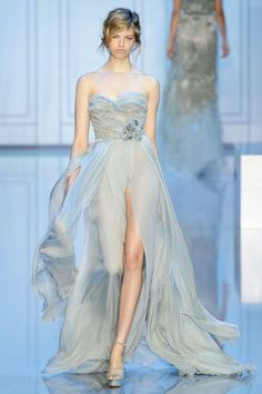 Elie Saab dress, Paris fashion week