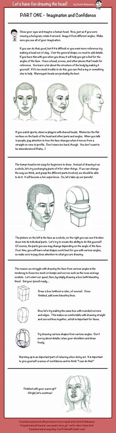 Drawing the Head: Pt 1 by ~tobediff on deviantART
