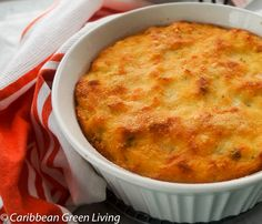 Breadfruit au Gratin is a one-pot dish. Made with breadfruit and codfish, cheese, and fresh spices. Carribean Food, Caribbean Recipes, Breadfruit Recipes, Indian Food Recipes, Healthy Recipes, Trini Food, One Pot Dishes, Side Dishes, Spanish Dishes