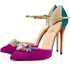 Christian Louboutin United States Official Online Boutique - Rivieraluna 100 Version Cassis Suede available online. Discover more Women Shoes by Christian Louboutin Stilettos, Pumps Heels, Suede Pumps, Special Occasion Shoes, Embellished Heels, Decorated Shoes, Christian Louboutin Heels, Louboutin Pumps, Suede Leather Shoes