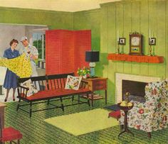 Decorating Forties Style Index