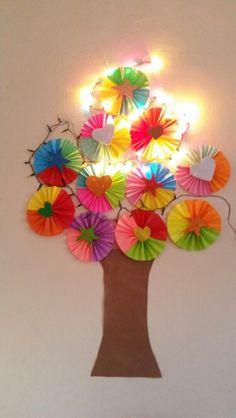 Yılbaşı agacimiz  #okuloncesi  #preschool  #craftandarts #benimadimmai #etkinlikpaylasımı