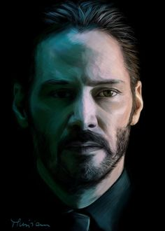 John Wick\Keanu Reeves by Musiriam.deviantart.com on @DeviantArt