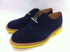 Suede shoes with colored soles, not sure why I'm drawn to them, but these are awesome.