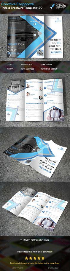 Creative Corporate Trifold Brochure Template -20