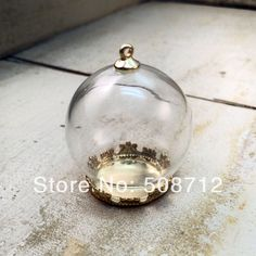 Cheap charmed jewelry, Buy Quality jewelry purple directly from China jewelry classifieds Suppliers: Clear Sphere Bottle Pendant 24K GOld plated brass Base Glass Terrarium Bottle Apothecary Bottle Charm Jewelry SuppliesTh