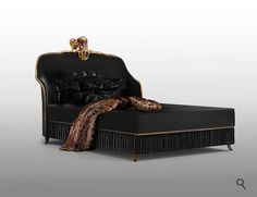 FORBIDDEN Bed Detail by KOKET. Hyper-luxury Design, classic side table, modern lighting, Luxury Dining Table, Lacquered dining tables, Luxury furniture, furniture art, Limited Edition Design, Luxury cabinets, Living room  furniture, Living room ideas, Luxury Closet Design Ideas