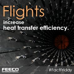 Flights increase heat transfer efficiency. #facts #factfriday #thermalprocessing #rotarydryer #rotarydryers