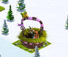 Ice Age Village....... Canasta de Pascua en crecimiento