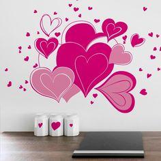 Tiernos y divertidos corazones / Loving and funny hearts