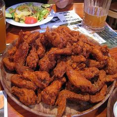 Make our Hooters Buffalo Chicken Wings Recipe at home for you next party or football game. Our Secret Recipe tastes just like Hooters' Wings I Love Food, Good Food, Yummy Food, Tasty, Frango Chicken, Chicken Wing Recipes, Recipe Chicken, Restaurant Recipes, Food Cravings