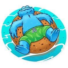 Alien Drawings, Smurfs, Stickers, Cute, Cookie Monster, Fictional Characters, Cartoons, Humor, Dibujo
