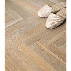 herring bone tile flooring