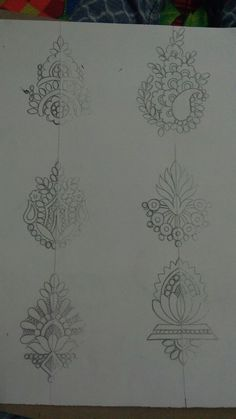 Peacock Embroidery Designs, Hand Embroidery Design Patterns, Embroidery Motifs, Motif Design, Pattern Design, Fabric Paint Designs, Jewelry Design Drawing, Floral Tattoo Design, Quilting Designs