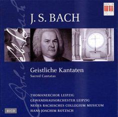 Hans-Joachim Rotzsch, Gewandhausorchester Leipzig - Bach: Geistliche Kantaten (Sacred Cantatas 11CD) (2008) / AvaxHome