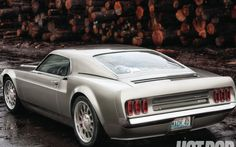 Mach 40 = 1969 Mustang Mach 1 + Ford GT40 This is a f***in' car, i absolutely love it