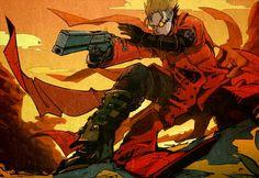 . Manga Anime, Anime Art, Vash, Anime Music, Hetalia, Attack On Titan, Peace And Love, The Past, Pokemon