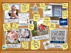 Dream the DREAM, set goals and build SUCCESS ~ To Insanity and Back... My Dream Board!