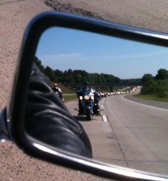 Let me share a happy tear. 2 million brave patriotic American men and women on their Iron Horses en route to D.C., the District of Criminals. Hope is the one thing greater than fear. Ride on!