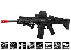 ICS Full Metal CXP - APE KeyMod Carbine AEG Airsoft Gun ( Black )