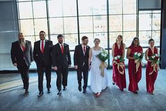 Emily and Joel Exchanged vows at Mclean Bible Church on a Chilly December day. Surrounded by Family and Friends, they celebrated their love!